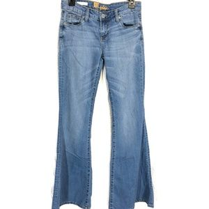 KUT FROM THE KLOTH Jane Super Flare Blue Jeans ~ 2